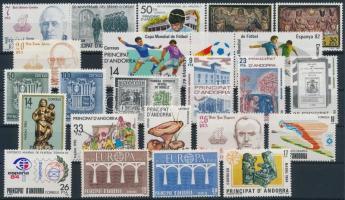 1981-1984 23 db bélyeg