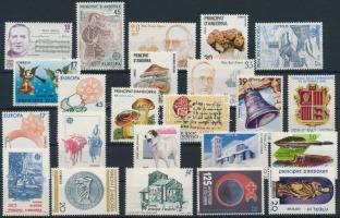 1985-1989 23 db bélyeg 1985-1989 23 stamps