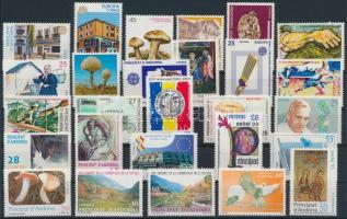 1990-1995 27 db bélyeg 1990-1995 27 stamps