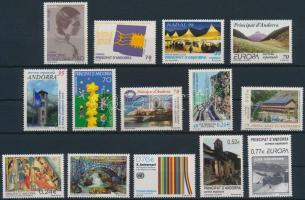 1996-2004 14 db bélyeg