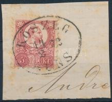 1871 5kr KŐSZEG GÜNS (Gudlin 200 pont)