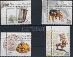 2005 Szarmata műkincsek ívsarki sor Mi 1232-1235