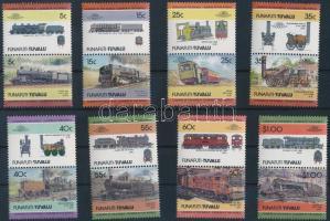 Mozdony sor 8 párban Locomotive set 8 pairs