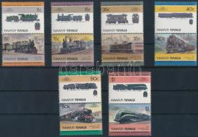Mozdony sor 6 párban Locomotive set 6 pairs