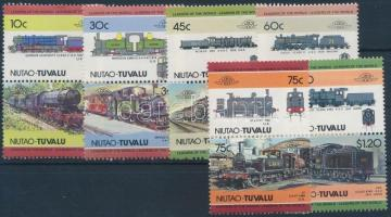 Locomotive set 6 pairs Mozdony sor 6 párban