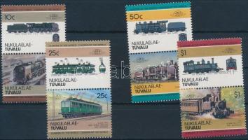 Mozdony (III) sor 4 párban Locomotive (III) set 4 pairs