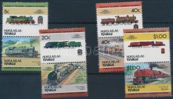 Locomotive (II) set 4 pairs Mozdony (II) sor 4 párban