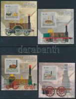 Railway set in form block, Vonat sor blokk formában