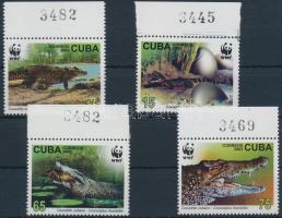 WWF Crocodile margin set, WWF: Krokodil ívszéli sor