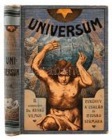 Universum: Évkönyv a család és az ifjúság számára. Szerk. Dr. Hankó Vilmos. Bp., é.n., Lampel. Kiadói festett, illusztrált, egészvászon-kötésben.