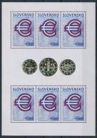 2009 Az euró bevezetése kisív Mi 596