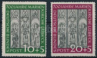 1951 Marienkirche Lübeck Mi 139-140