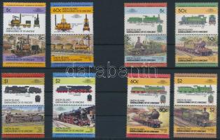 1984-1985 2 Trains set, 1984-1985 2 klf Vonat sor