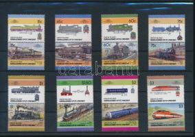 Train set 8 pairs Vonat sor 8 db párban