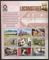 Locomotive mini sheet Mozdony kisív