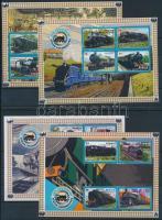 Vonat kisív sor Train mini sheet set