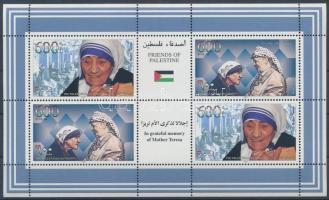 Mother Teresa mini sheet Teréz anya kisív