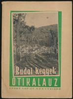 Pápai Miklós dr.: Budai hegyek. Útikalauz. Sport Lap- és Könyvkiadó. Kiadói papír kötésben