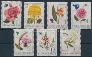 1965 Virágok sor Mi 1035-1041