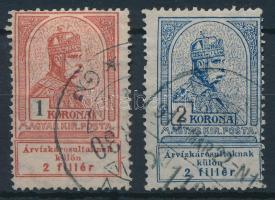 1913 Árvíz 1K, 2K (8.400)