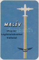 1958 Malév kártyanaptár