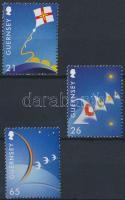 2000 Europa CEPT sor 3 értéke Mi 851-854 (hiányzik/ missing Mi 853)