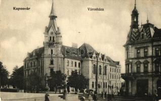 Kaposvár, Városháza, Erzsébet szálló