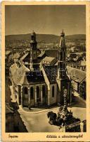 Sopron, kilátás a várostoronyból (EK)