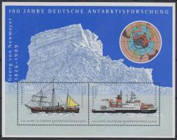 2001 100 éves az Antarktiszi német kutatóállomás blokk Mi 57