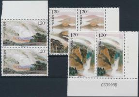 2007 Geotermikus park sor párokban Mi 3892-3894