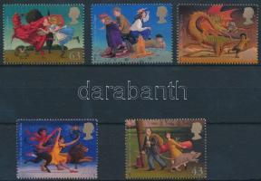 1998 Gyermek irodalom sor Mi 1758-1762