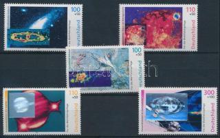 1999 Kozmosz sor Mi 2077-2081