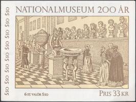 National Museum creations stamp-booklet, A Nemzeti Múzeum műalkotásai bélyegfüzet