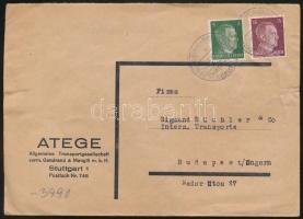 1942 Cenzúrás üzleti levél Budapestre