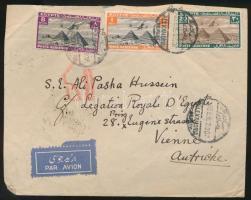 1936 Légi levél Bécsbe