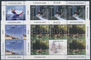 2009 Turizmus kisív sor Mi 210-213