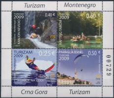 2009 Turizmus Mi 210-213 füzetlap (Mi H6)