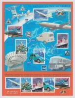 2002 Szállítás a 20. században kisív Mi 3608-3612