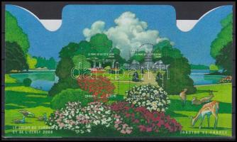 French gardens folded block, Francia kertek hajtott blokk