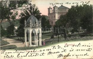 Marianske Lazne, Marienbad; Ambrosiusbrunnen / fountain