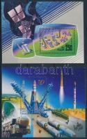 1993+2007 2 klf Űrkutatás blokk Mi 4, 103