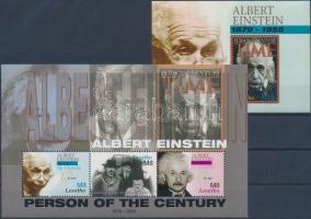 2005 Albert Einstein kisív Mi 1943-1945 + blokk 201