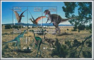 1999 Prehisztorikus állatok kisív Mi 3255-3260