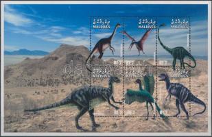 1999 Prehisztorikus állatok kisív Mi 3249-3254