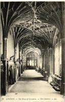 London, The House of Commons, The Cloisters, interior