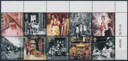 2003 II. Erzsébet sor ívsarki 10-es tömbben Mi 2121-2130