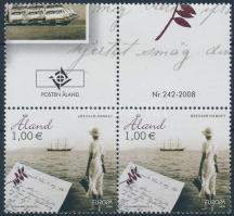Europa CEPT, A levél szelvényes pár Europa CEPT, Letter coupon pair