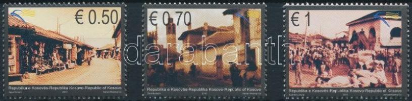 Cultural heritage set, Kulturális örökség sor