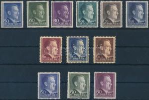 Generalgouvernement 1942-1943 3 klf Hitler sor Mi 83-88 A + 89-91 + 110-112