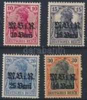 Románia 1917 Mi 4-7 (5 falcos)